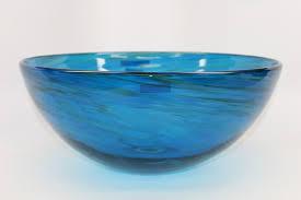 blue glass vessel sink blue water iv blown glass vessel sink sinks gallery