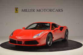 ferrari dealership showroom 2016 ferrari 488 gtb stock 4407 for sale near greenwich ct ct
