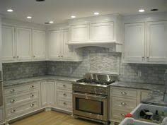 Photos Of Sammamish Kitchen Backsplash AKDO Thassos Marble Subway - Marble kitchen backsplash