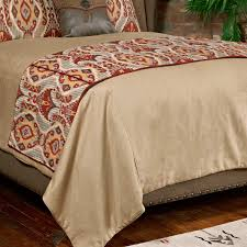 bed runners western bedding king size calistoga bed runner lone star western