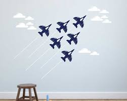 wall decals premium vinyl wall art stickers for home business airplanes clouds vinyl wall decals nursery sticker