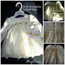 truly scrumptious by heidi klum dress for baby