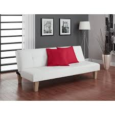 Mission Style Futon Couch Wall Hugger Futons Hayneedle