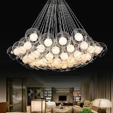 Creative Lighting Fixtures Modern Art Glass Chandelier European Style Creative Pendant Lights