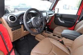 Jeep Wrangler Leather Interior 2013 Jeep Wrangler Rubicon Interior Front Seat Finnegan Auto Blog
