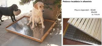 pedane per cani pedana riscaldata falegnameria serena