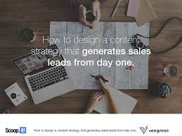 a content strategy that generates leads day one
