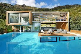 mountainside house plans spa house cape town south africa tevami