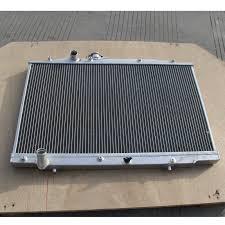 2 fila radiador de aluminio para acura tl v6 3 2 l j32a3 mt 2004