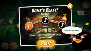Challenge Angry Angry Birds 2 Bomb S Blast Saturday Daily Challenge 3