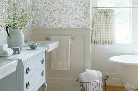 Modern Wallpaper For Bathrooms Bathroom Design Exciting Blue Flowers Modern Wood Bathroom