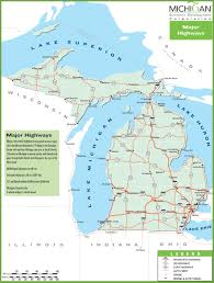 map of michigan michigan state maps usa maps of michigan mi