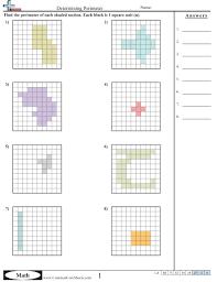 area u0026 perimeter worksheets