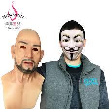 skin mask halloween form for human promotion shop for promotional form for human on