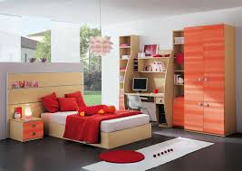 bedroom interior kids bedroom decor with maple wood storage bed