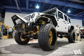 sema jeep 2016 2016 sema vision off road jeep jk wrangler