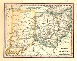 Map Toledo Ohio by Circle 7 Framing Antique Maps Americas