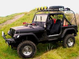 jeep comanche roof basket your yj kayak cargo racks jeepforum com