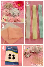 how to make baby flower headbands best 25 diy baby headbands ideas on baby headbands