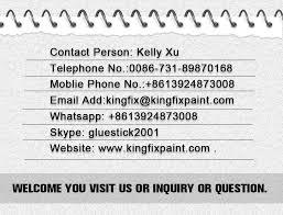 kingfix brand high performance auto paint color mixing machine