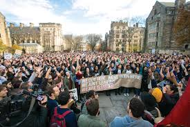 yale halloween costume more than 1 000 gather in solidarity