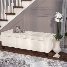 Upholstered Bedroom Bench Bedroom Benches You U0027ll Love Wayfair