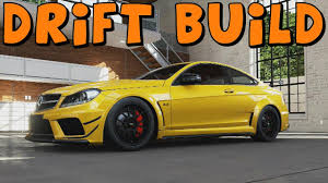build mercedes forza motorsport 5 mercedes c63 amg black series drift build