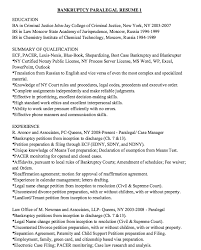 Immigration Paralegal Resume Resume And Manager Marketing And Ecommerce Military Supply Clerk