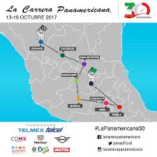 Queretaro Mexico Map by The 2017 Carrera Panamericana Announces The Route For The 30th