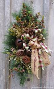 christmas swags for outdoor lights 1674 best country christmas decorating images on pinterest diy