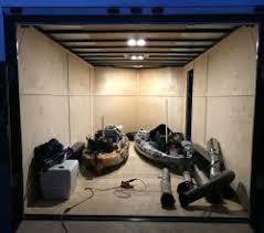 enclosed trailer led lights 12v led lights for inside a cargo trailer etrailer com