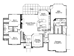 one house plan floor plan home design two traditional single house plans