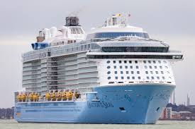 royal caribbean brings ovation of the seas the largest cruise ship