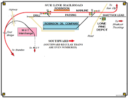 Robinson Illinois Map by July 16th New Maps And Robinson Sue Line Railroad
