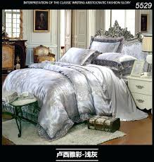 Grey Silk Comforter Luxury Bed Quilts U2013 Co Nnect Me