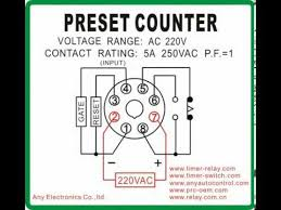 preset counter timer switch com youtube