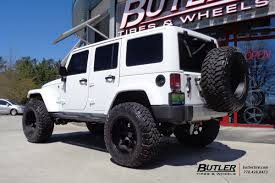 black jeep tires jeep wrangler with 20in black rhino glamis wheels exclusively from