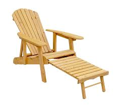 Pull Out Ottoman Leisure Season Ac7105 Reclining Adirondack Chair With
