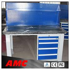 metal garage workbench steel work table with drawers buy steel