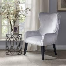 amazon com park hancock button tufted back accent chair