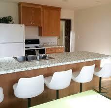 Retro Modern Kitchen Sneak Peek Kristen U0027s Kitchen Renovation Using Wilsonart U0027daisy