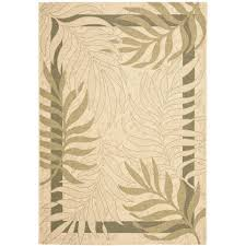 Yellow Indoor Outdoor Rug Cream Outdoor Rugs Rugs The Home Depot