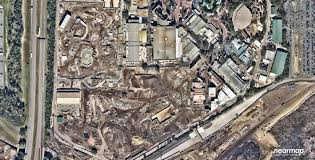 Map Of Hollywood Studios Aerial Photos Latest Progress On Star Wars Land And Toy Story
