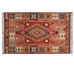 Pottery Barn Rug Runners Pottery Barn Kilim Rug Runner Your Home Review