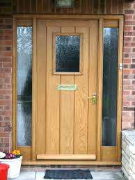 Solid Oak Exterior Doors Front Doors Compact Timber Front Door For Ideas Oak Front Door