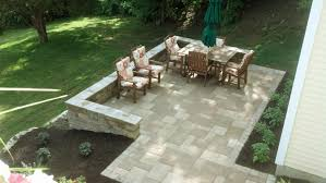 patio small sloped backyard landscaping ideas outdoor living