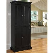 Freestanding Kitchen Furniture Kitchen Free Standing Black Kitchen Cabinet With Beadboard Doors