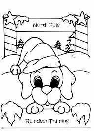 christmas puppy colouring pages 3 96600 coloring pages