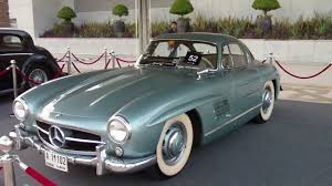 mercedes benz 300sl gullwing 1955 dubai classic car show youtube