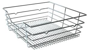 Pull Out Wire Baskets Kitchen Cupboards by Pull Out Wire Basket For Base Cabinet Fittings 600 Mm Wide In